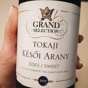 Grand Tokaj 黃金晚摘甜白酒 2012